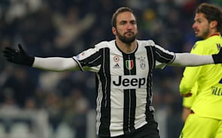 Juventus 3 Bologna 0: Higuain at the double as Bianconeri set new Serie A record