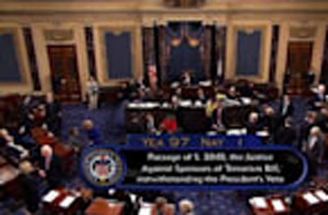Senate Overrides Obama's Veto of 9/11 Bill