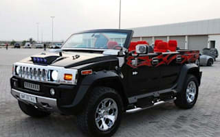 Hummer goes topless