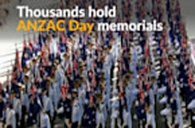 Dawn services and military parades to mark ANZAC Day