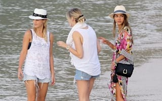Jessica Alba lives it up on holiday in St Barts