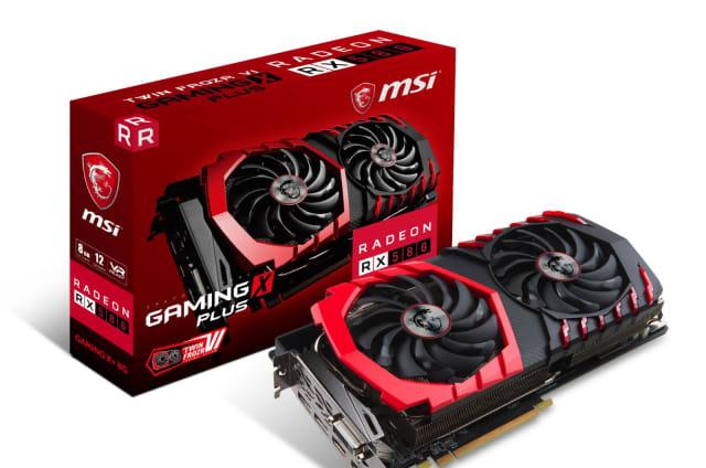 Las Radeon RX 500 de AMD son gráficas de gama media para todos los bolsillos