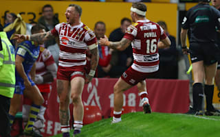 Wigan 12 Warrington 6: Charnley signs off Warriors career with Grand Final winner