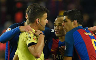 Barcelona to appeal Suarez and Busquets Copa del Rey final bans