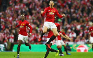 Mourinho wants Ibrahimovic to take Manchester United to 'a different level'