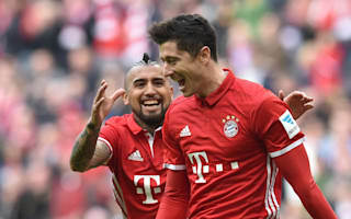 Bayern Munich 3 Eintracht Frankfurt 0: Lewandowski ton up to bring title nearer