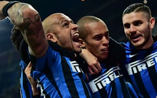 Inter 3 Sampdoria 1: Mancini's men bounce back as Mourinho and Ronaldo look on