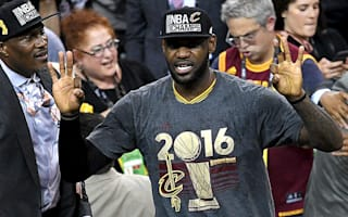 LeBron named NBA Finals MVP for a third time