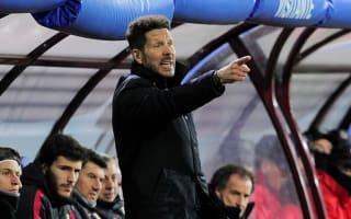 Simeone happy with squad rotation in 'intense' Eibar contest