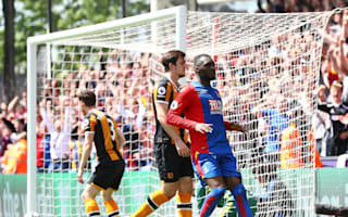 Crystal Palace 4 Hull City 0: Zaha, Benteke on target to send Tigers down to Championship