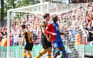 Crystal Palace 4 Hull City 0: Zaha, Benteke on target to send Tigers down to Championship