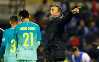 Barca did not take Hercules lightly, insists Luis Enrique
