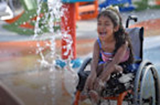 The world's first accessible waterpark for people with disabilities