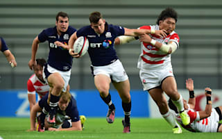 Laidlaw kicks key as Scotland punish Japan's mistakes