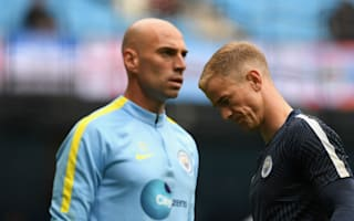 Happy with Caballero and Bravo - Guardiola paints bleak picture for Hart future at Manchester City