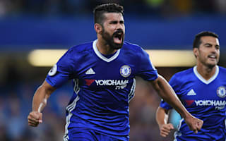 Chelsea 2 West Ham 1: Last-gasp Costa gives Conte dream debut