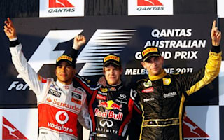 Vettel wins the Australian Grand Prix