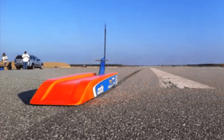 Man creates 188mph remote-control car