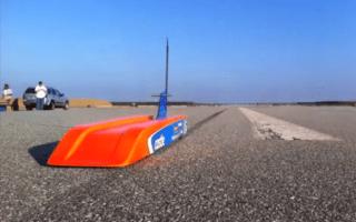 Man creates 188mph remote-control car