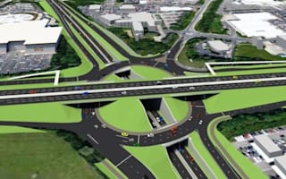 Triple-deck roundabout planned for northern England