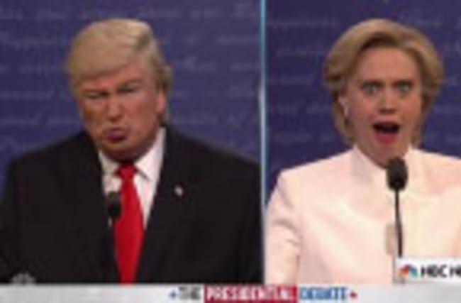 SNL Takes On Third Presidential Debate In EPIC Opening Skit