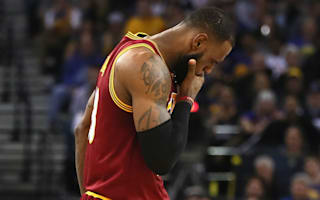 'Warriors played a hell of a game' - LeBron James gracious in defeat