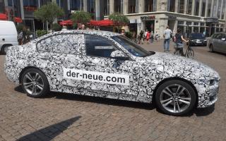 Jaguar uses German rivals as advert for its teaser website