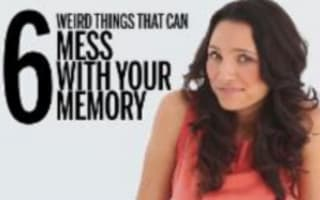Six weird things that affect your memory