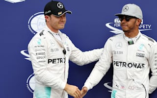 Rosberg pips Hamilton to German pole in dramatic fashion