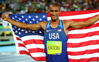 Rio 2016: Two-time decathlon champion Eaton thanks Thompson for inspiration