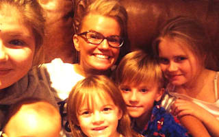 Kerry Katona's 'children involved in car crash with their nanny'