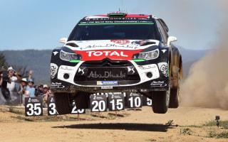 Citroen announce break from WRC