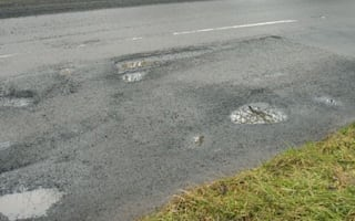 Council reclassifies pothole depth as UK's worst roads are named