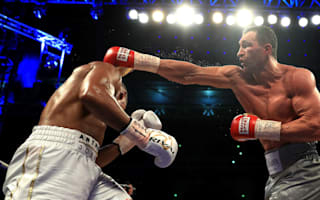 Klitschko 'one punch' from knocking Joshua out
