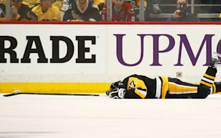 Penguins' Crosby out of game four with concussion