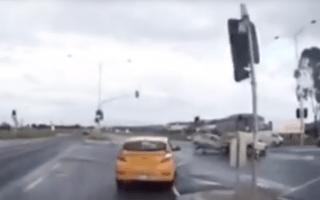 'Ghost car' causes crash in Australia