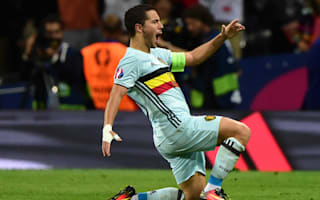 My best Belgium performance - Hazard