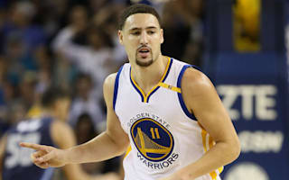 Thompson scores 40, Warriors explode during first half against Pacers