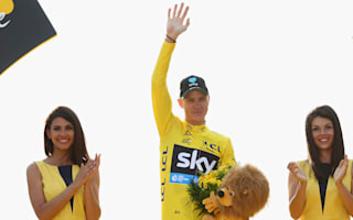 Froome joins cycling elite with third Tour success
