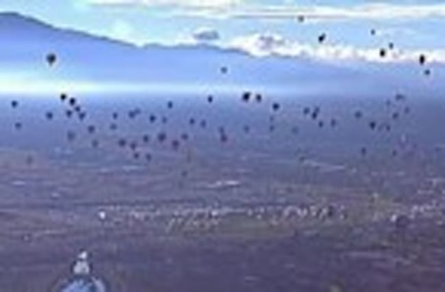 Raw: International Balloon Fiesta in Albuquerque