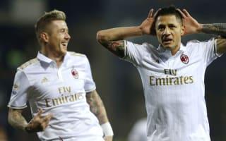 Empoli 1 AC Milan 4: Lapadula and Suso inspire second-half thrashing