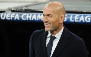 Real Madrid v Wolfsburg: Zidane bullish on comeback hopes