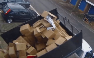 Van driver fined just £320 for fly-tipping in Tottenham