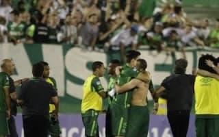 Brazilian football team Chapecoense's plane crashes in Colombia