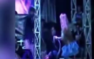Singer dies after being bitten by king cobra on stage