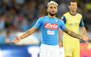 Sarri won't punish 'silly' Insigne for Juve outburst