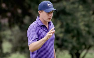 Spieth makes solid start as trio share lead at rain-delayed Byron Nelson