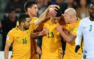 Australia 3 Saudi Arabia 2: Rogic stunner gives hosts huge World Cup boost