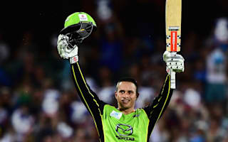 Khawaja fires Thunder into Big Bash final