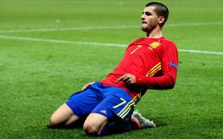 Morata limps off in Belgium friendly